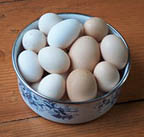 water from boiling eggs for natural fertilizer