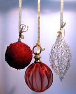 decorate anywhere with Christmas ornaments