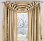 new drapes from old bedspread