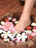 natural foot spa